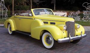 Cadillac Series 75 Convertible Coupe 1938 года
